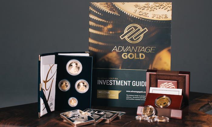 advantage gold gold ira kit